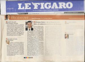 2014 05 - Le Figaro, les décideurs